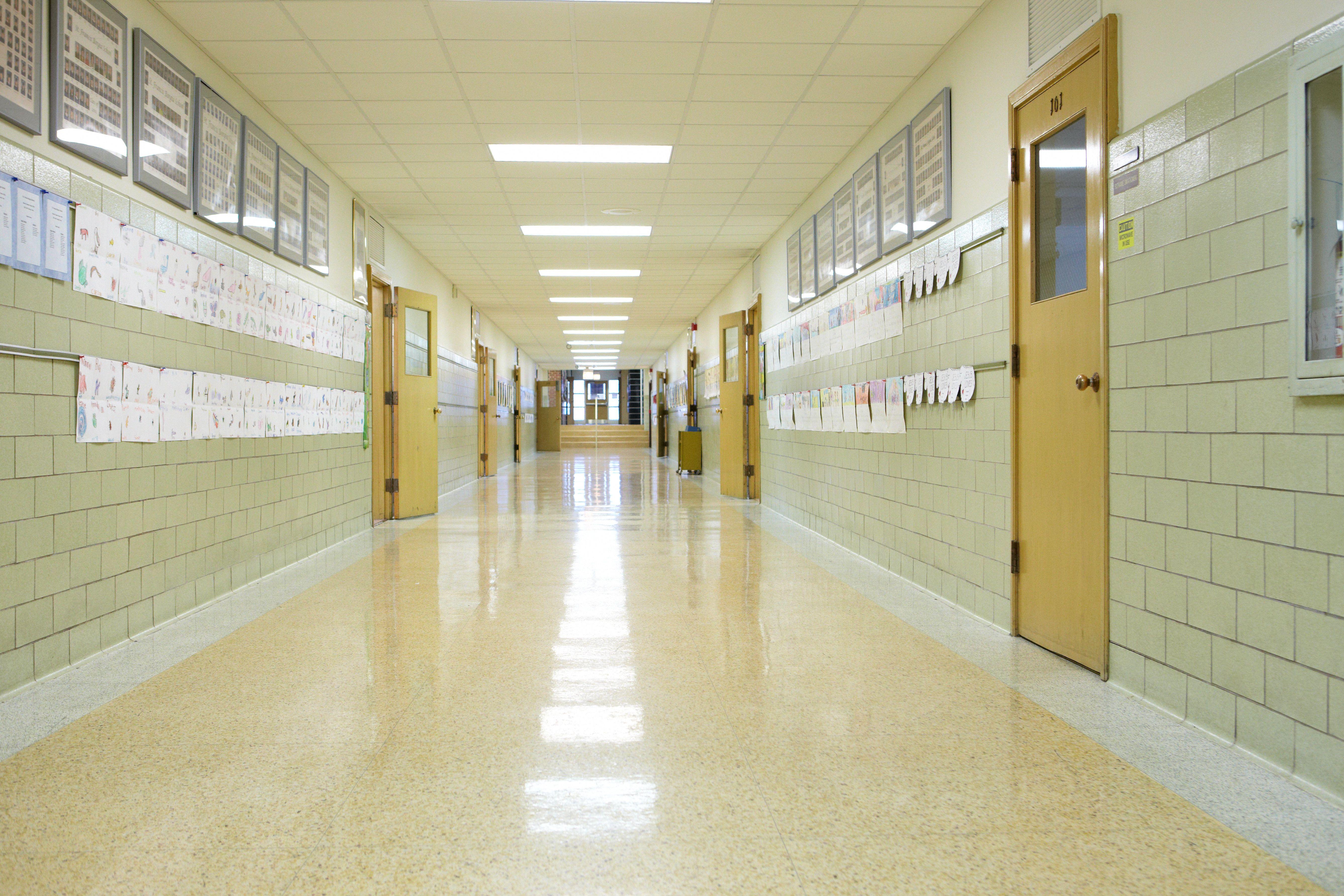 school hallway | School hallways, Hallway, Student clipart