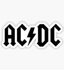 ACDC Rock Band Custom Vinyl Wall Sticker