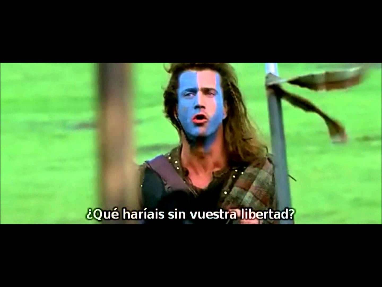 Discurso De William Wallace La Libertad Videos