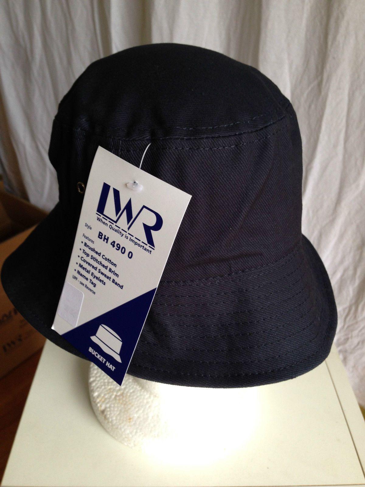 BNWT Boys or Girls Navy Blue LW Reid Sz S 55cm School Uniform Bucket Hat UPF 50+