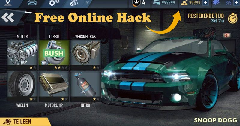 Need For Speed No Limits Hack 2019 - Online Cheat For