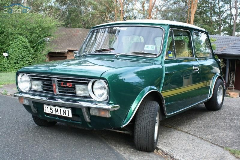 1977 Leyland mini 998 LS Original Green with gold stripes