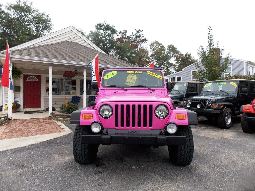 2002 Pink Jeep Wrangler Sport 13,998 Pink jeep, Pink