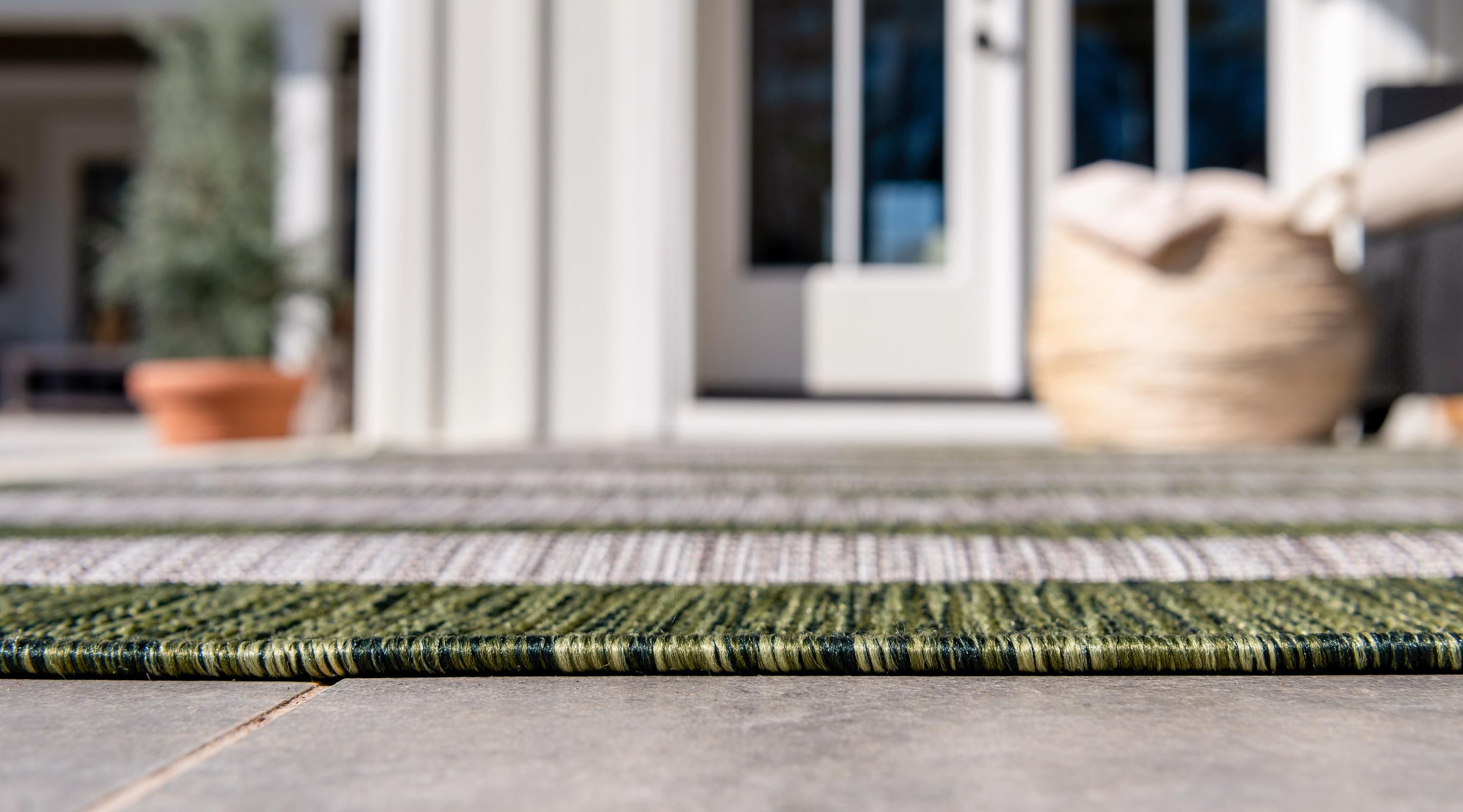 Green 9 X 12 Outdoor Striped Rug Affiliate Green Outdoor Rug Striped Sponsored Outdoor Striped Rug Shed Colours Striped Rug