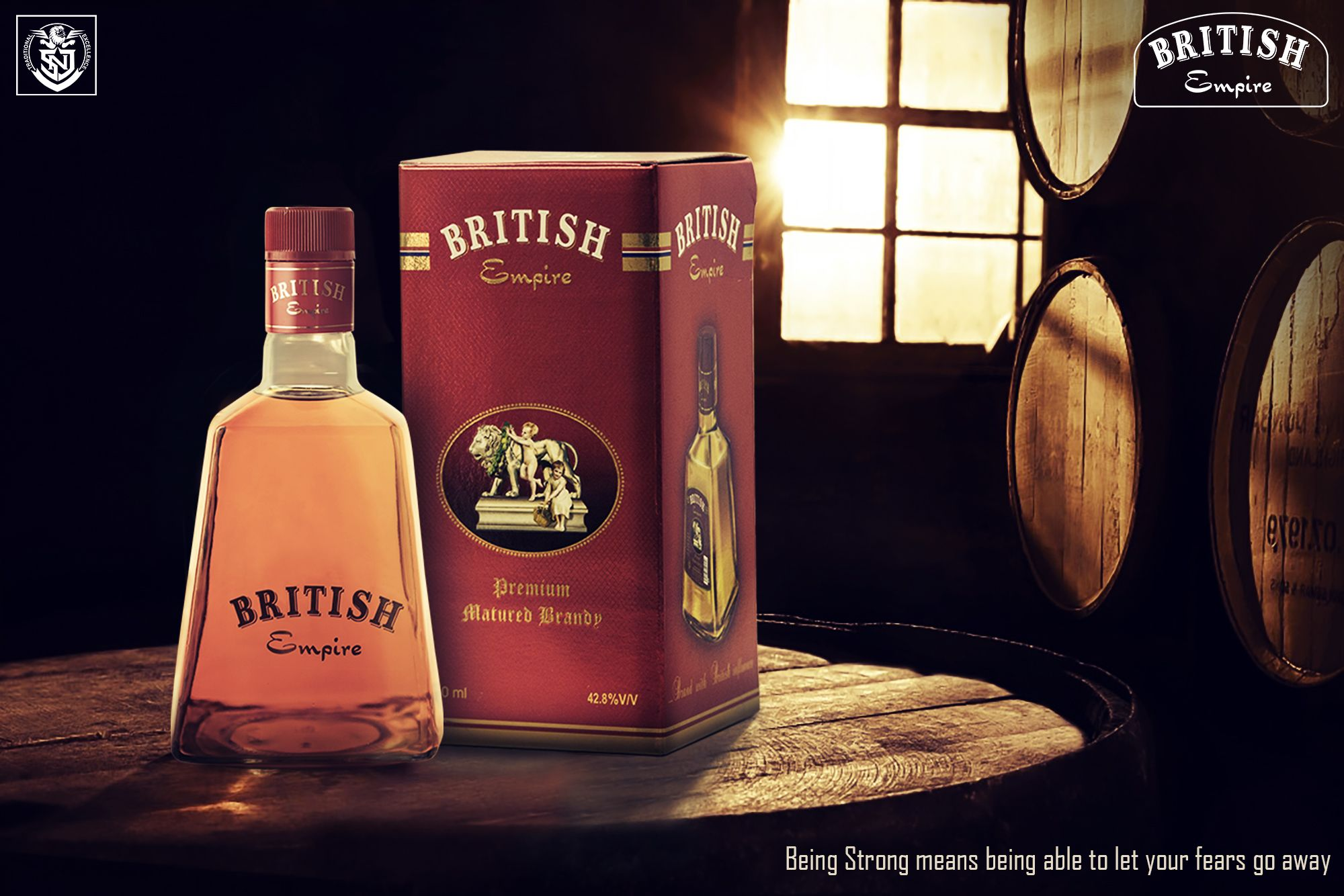 Being Strong Means Being Able To Let Your Fears Go Away Britishempire Premiumbrandy Bravetales Snj Britishempi Wine Bottle Whiskey Bottle Rose Wine Bottle