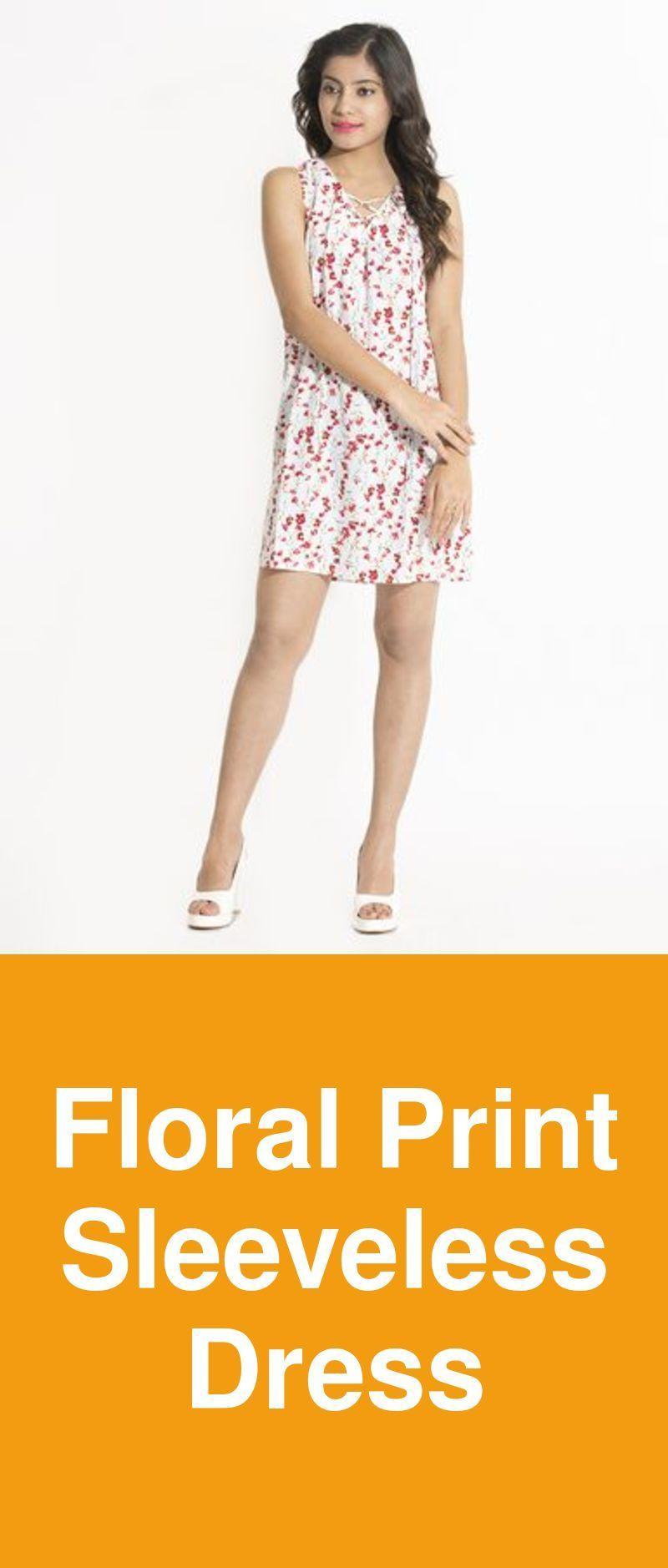 7116c46e489 floral print sleeveless dress SKU 11036186 Brand Artery Category Women  Clothing Sub category Dresses Fabric Poly