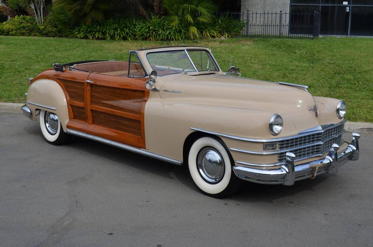 1948 Chrysler Town Country For Sale 2023218 Hemmings Motor News Chrysler Towns Plymouth