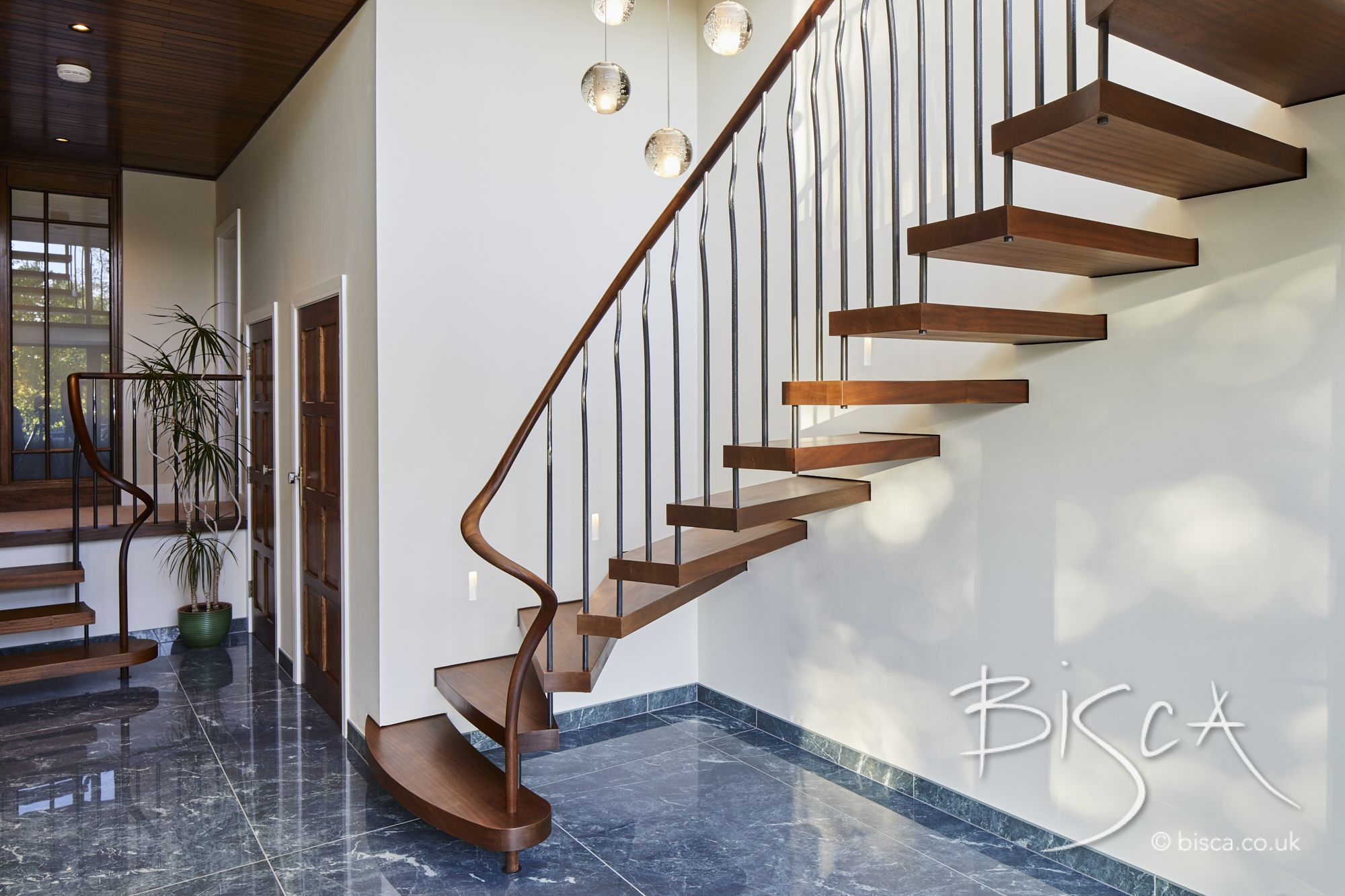 Best Sapele Staircase Stairs Staircase Design Cantilever Stairs 640 x 480
