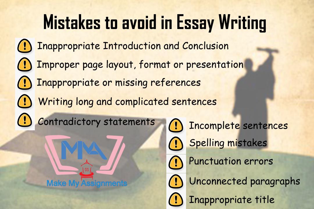 Essay Writing Mistakes   Essay writing, Essay, Incomplete sentences
