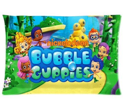 custom bubble guppies molly gil goby deema oona nonny two sides printed for