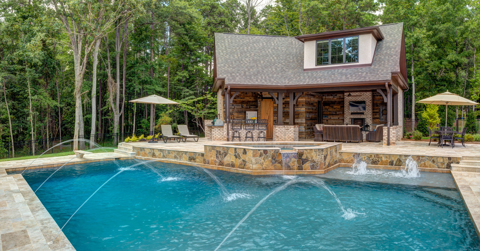 Pool House Design For The Ultimate Staycation Living Room Cozy