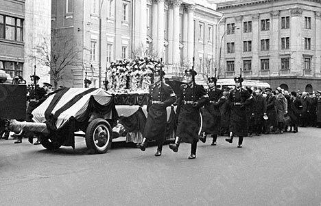 На похоронах гагарина боялись волнений…   кузбасс главное.