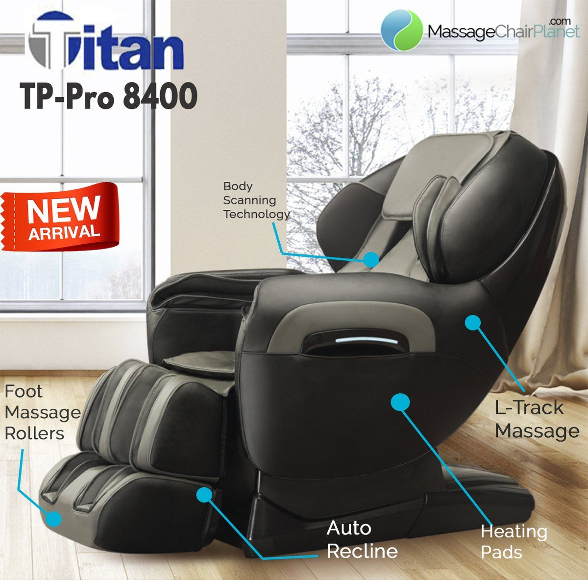 Find out more about the titan tppro 8400 massage chair