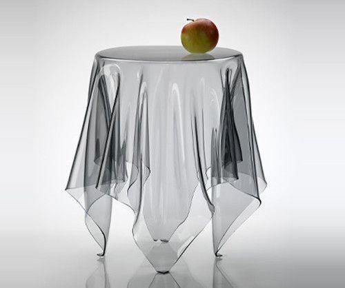 perspex table