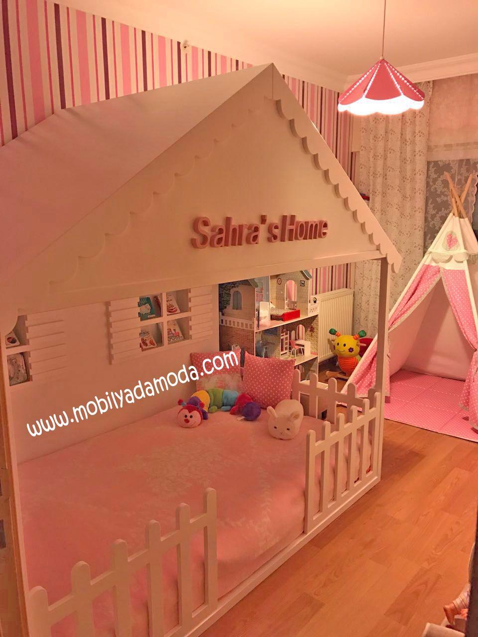 Özel Tasarım Ev Montessori Yatak, Sahras Home
