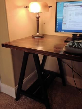 Sawhorse Desk   Do It Yourself Home Projects from Ana White