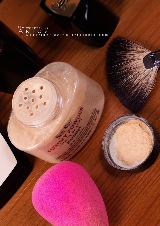 Review Ben Nye Luxury Powder Banana ريفيو لبودرة بن ناي بنانا Ben Nye Luxury Powder Luxury Powder Ben Nye