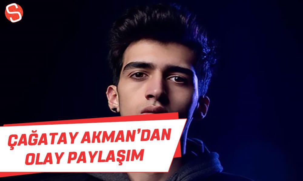 Cagatay Akman Dan Olay Paylasim Cagatayakman Homofobik Paylasim Youtube Olay