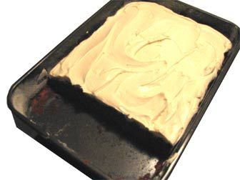 Miracle whip chocolate cake - old school best ever