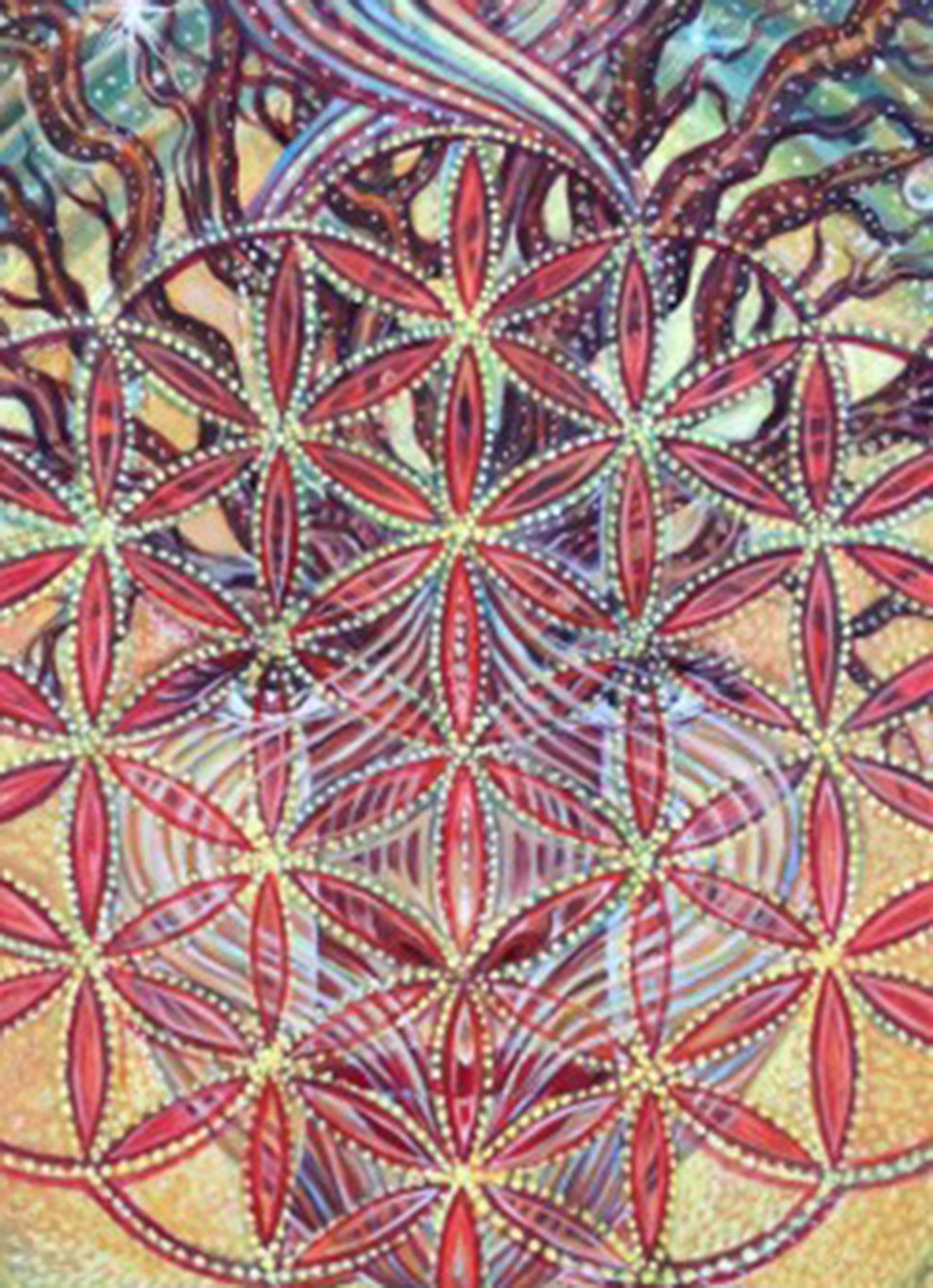 Flower of life flower of life giclee print limited