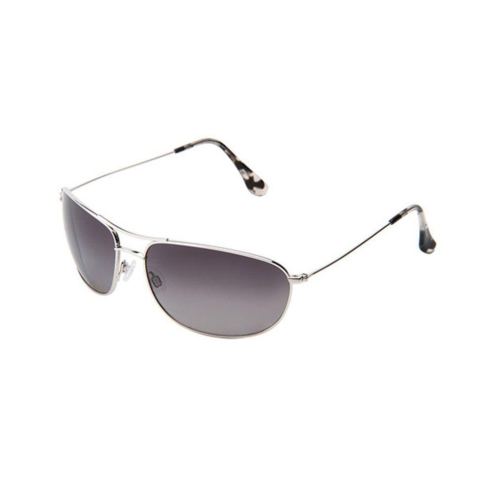 29d19e7f4d4b Maui Jim Hideaways Maui Evolution®' 64mm Polarized Metal Sunglasses in  Silver
