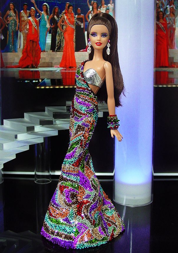 Miss Chile 2013/2014 - International Pageant Collection - NiniMomo Doll