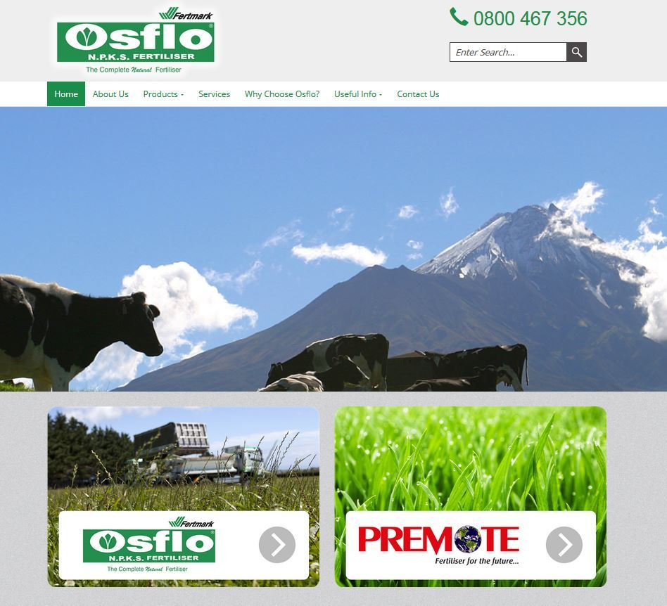Improve Production with our Sustainable Fertilisers At