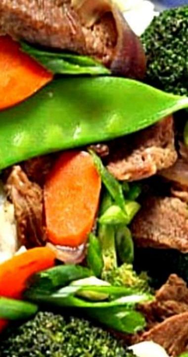 Easy Beef and Vegetable Stir Fry #vegetablestirfry