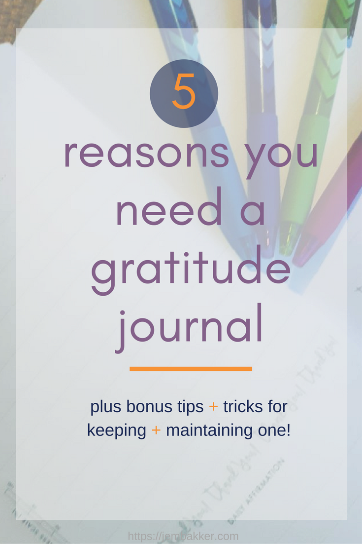 Stress Hack: How Maintaining a Gratitude Journal for 1 Month Made Me Happier forecast