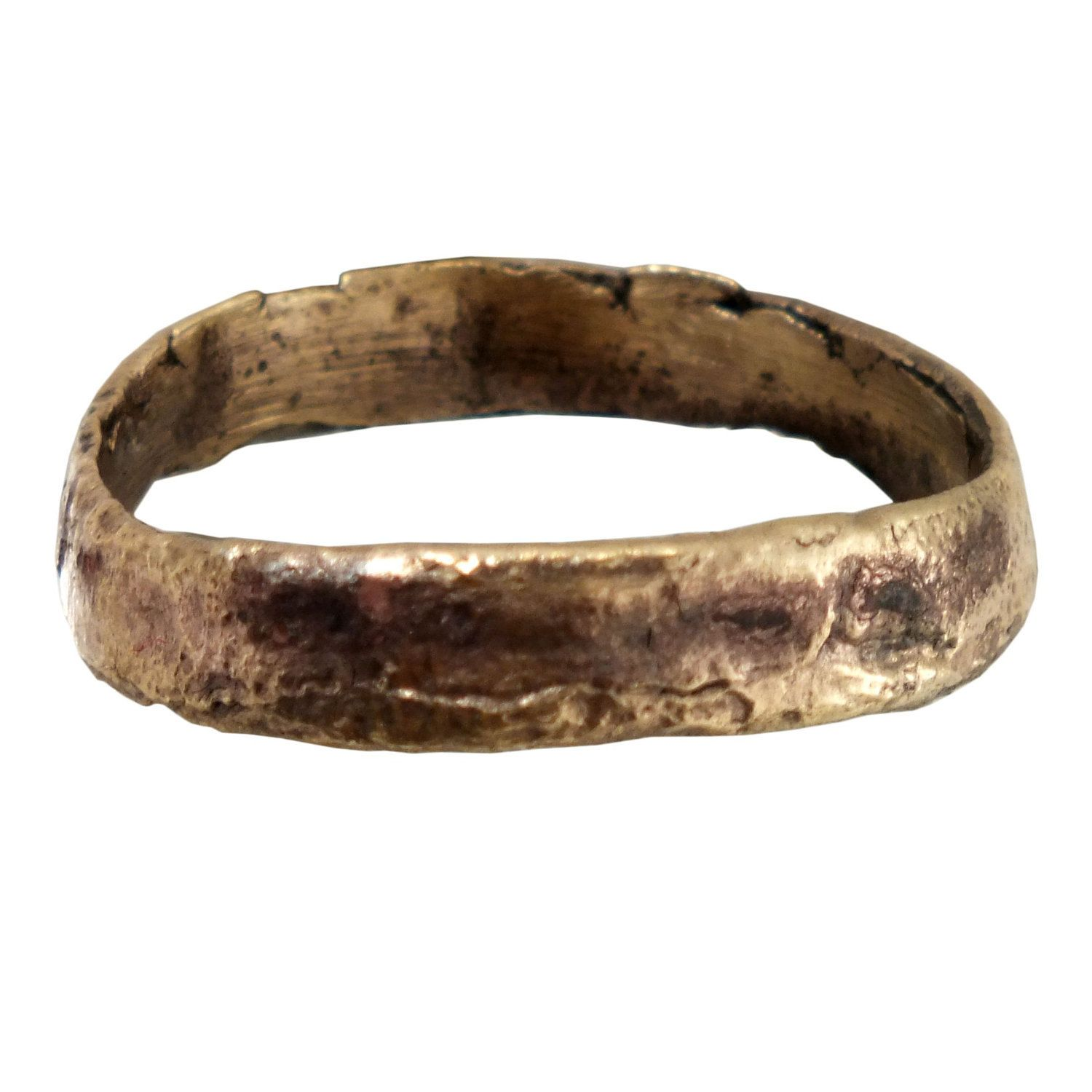Real Ancient Viking Wedding Ring Mans or Womens Jewelry