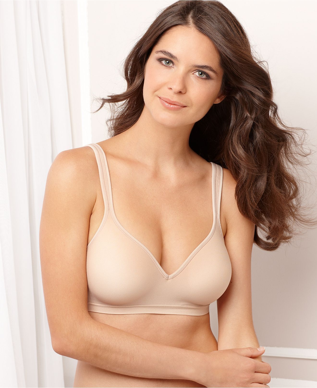 Bali Comfort Revolution Wireless Bra 3463 | Plus size bra, Women's ...