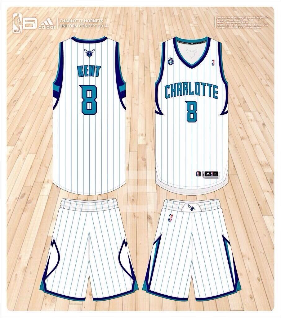 fee1f24a7b96 Charlotte Hornets home concept Charlotte Hornets