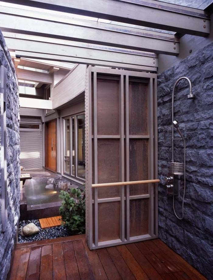 Picture as stone house designs exterior bath | Modern Stone Houses