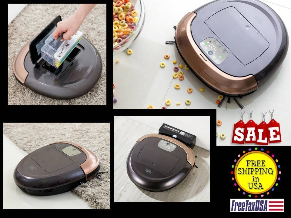 iCLEBO Omega TOP NEW Smart Automatic Robot GOLD Vacuum Carpet Tile ...