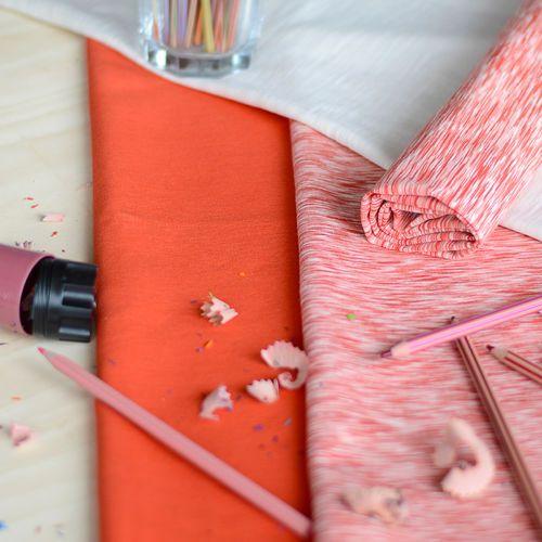 Jersey, Fantasia punainen| NOSH Fabrics Pre Autumn Collection 2016 is now available at en.nosh.fi | NOSH syksyn ennakkomalliston 2016 kankaat ovat nyt saatavilla nosh.fi