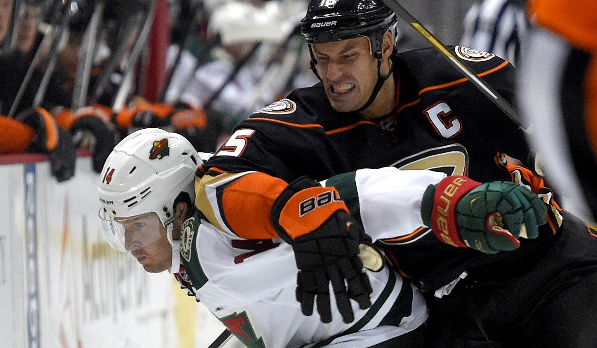 angry ryan getzlaf - Google Search | Game Previews and