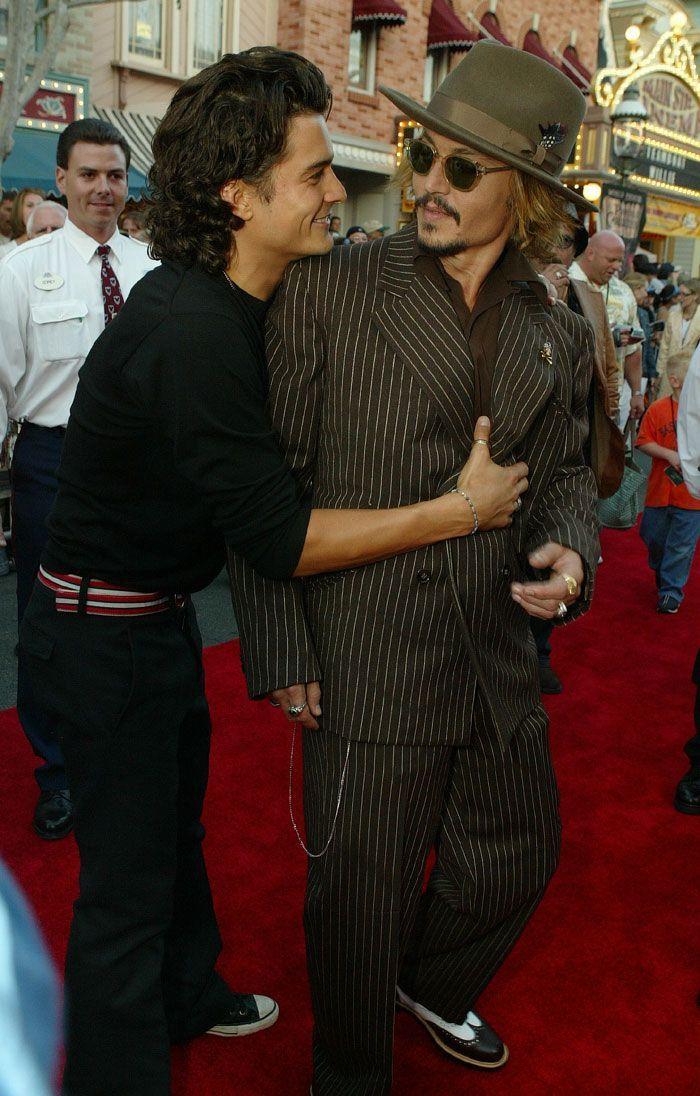Estreia POTC (28/06/2003) com Orlando Bloom/Johnny Depp
