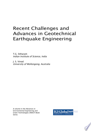 Read Online Recent Challenges And Advances In Geotechnical Earthquake Engineering Pdf In 2020 With Images Earthquake Engineering Challenges Reading Online