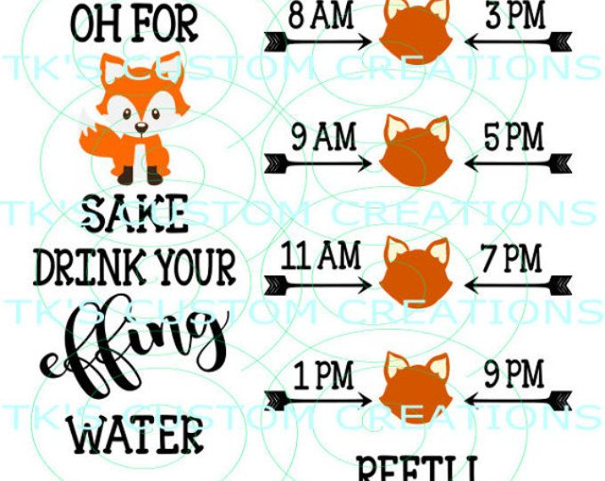 0bc640642b Drink your effing water hearts – Artofit