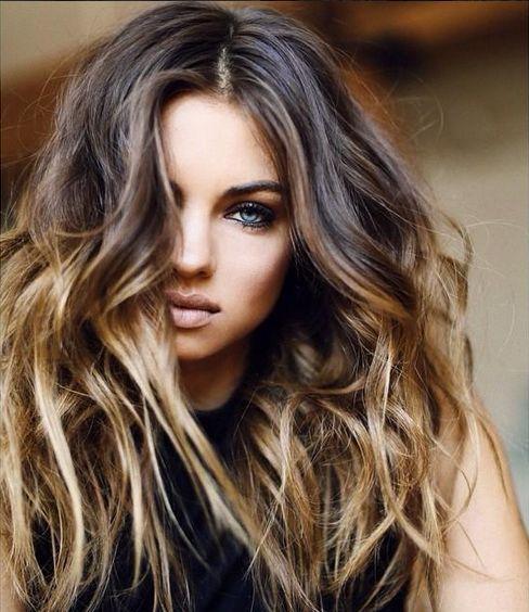 california brown hair balayage