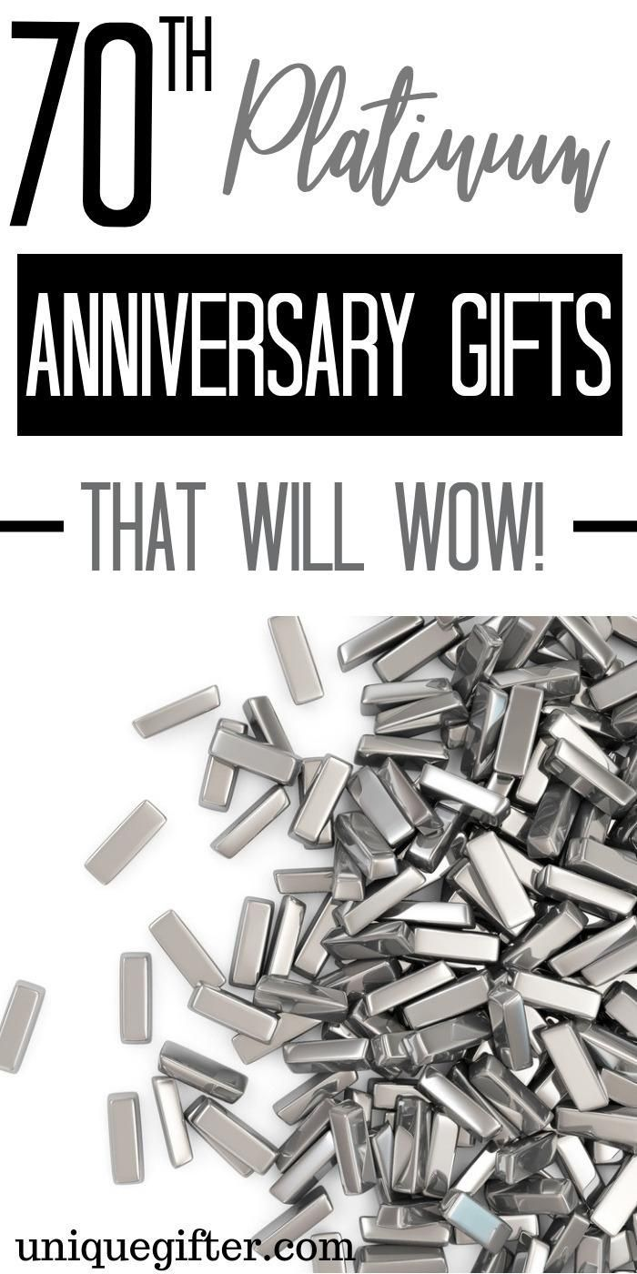 20 70th Platinum Anniversary Gift Ideas 20th wedding