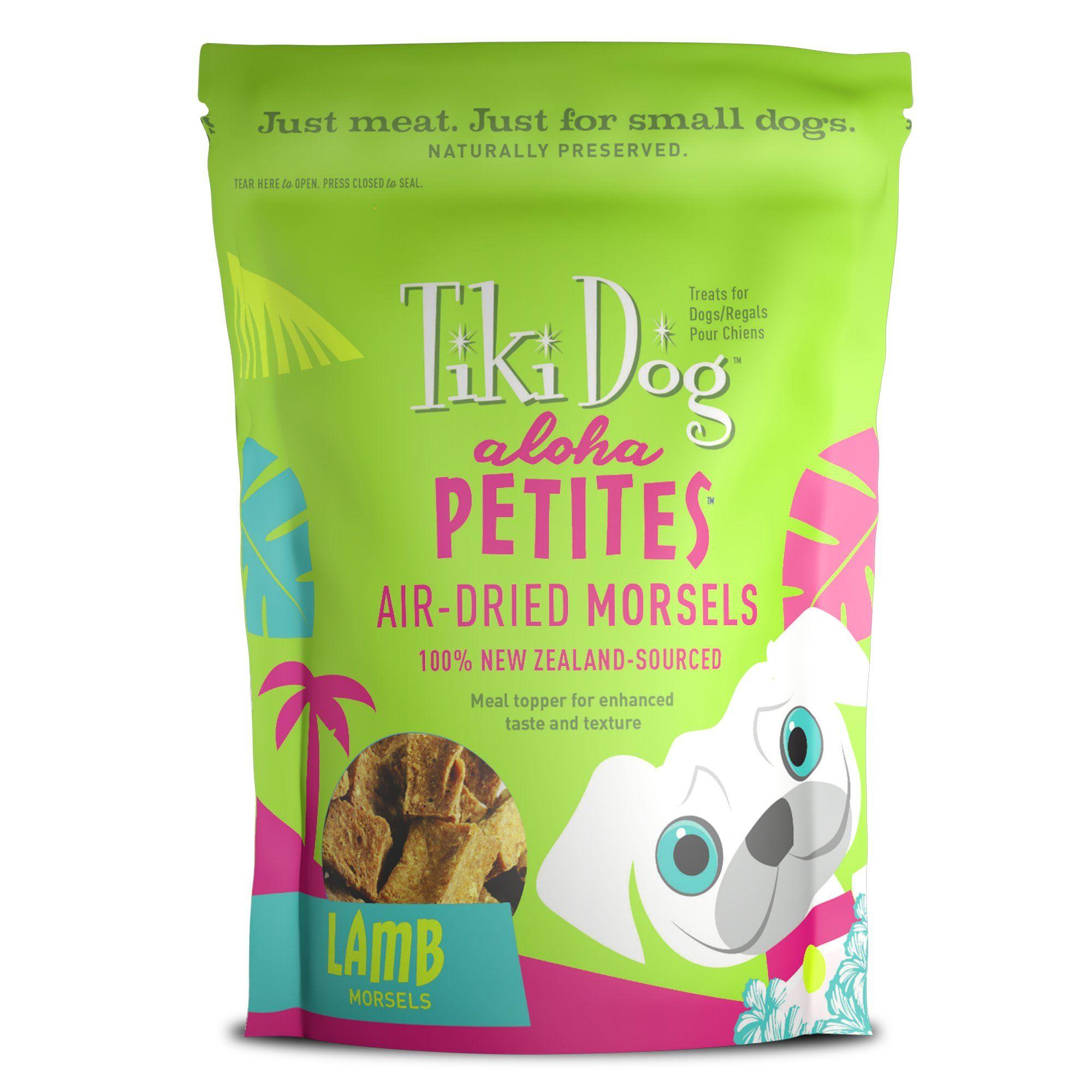 Tiki Dog Aloha Petites Air Dried Lamb Morsels Small Breed Dog
