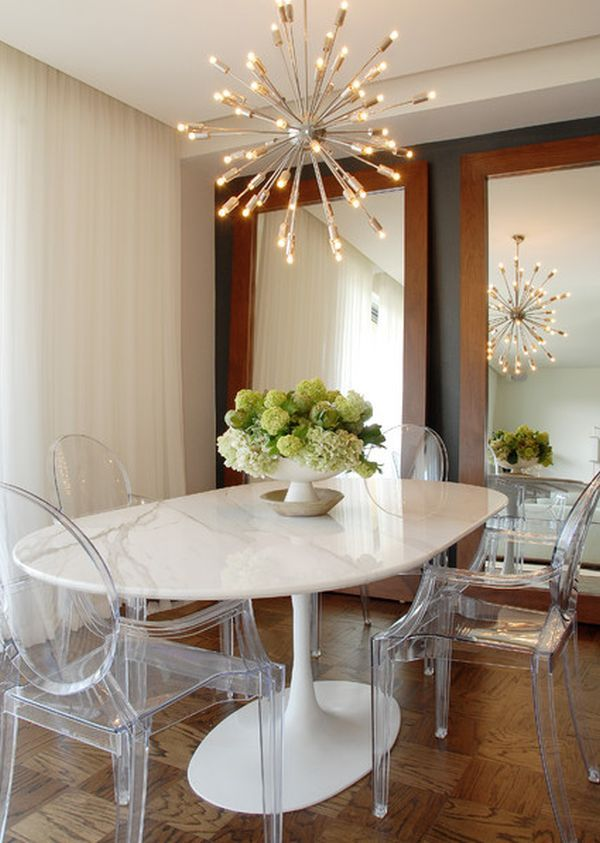 Identify The Dining Table Shape That's Right For You  Ghost Alluring White Wooden Dining Room Chairs Decorating Design