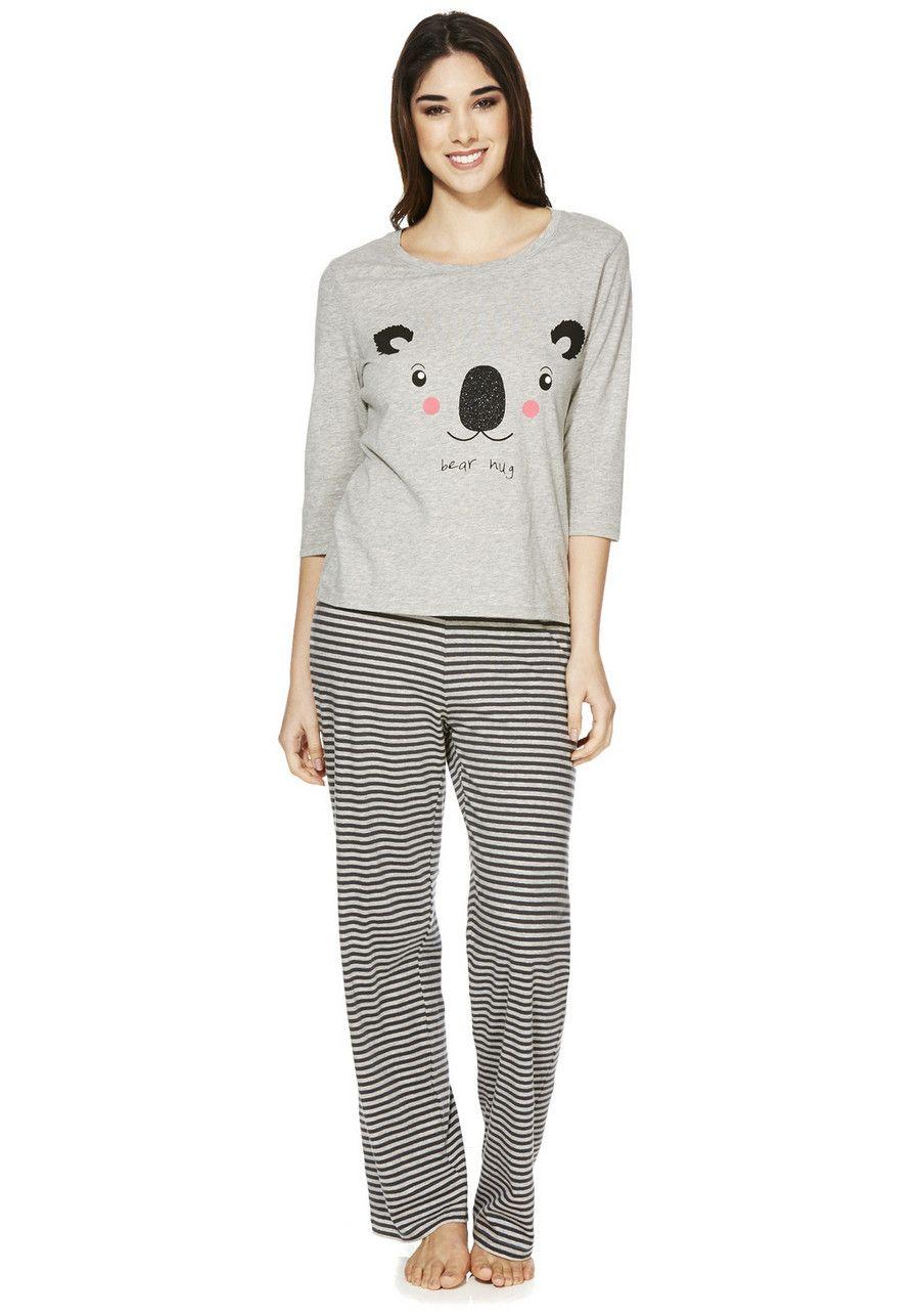 clothing at tesco f f koala pyjamas nightwear new in. Black Bedroom Furniture Sets. Home Design Ideas