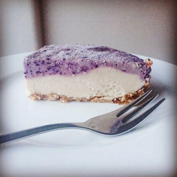 Rezept: Vegan Raw Blueberry Cheesecake   Rezepte   Vegan ...