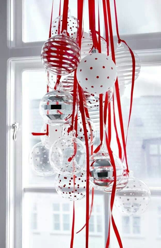 A inexpensive ceiling piece to brighten up your home this Christmas season.