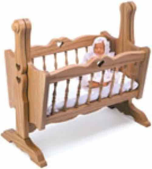 Doll Cradle Plans Includes Free Pdf Download Woodworking Dolls