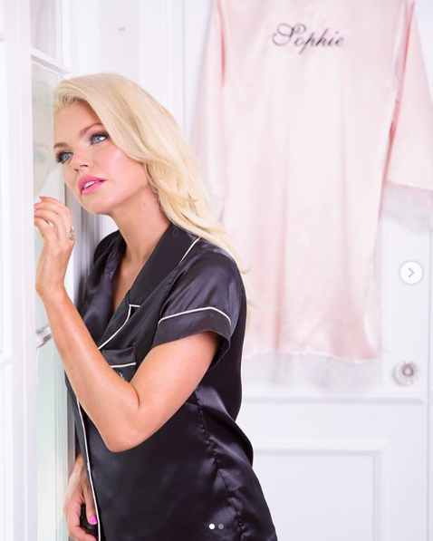 49f3e5be0d4  sophiemonk rocking our Short Piping Pyjama Set in black