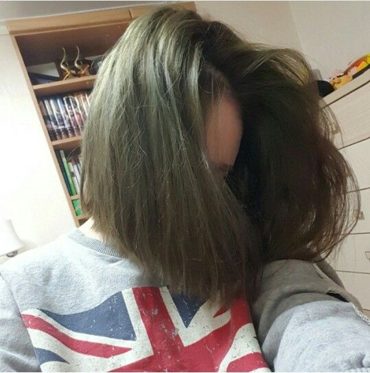 ash greenish brown hair meikakuna