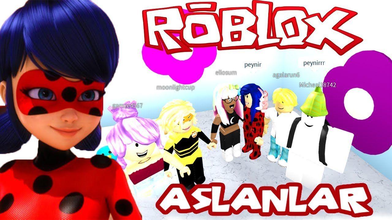 Robot Mucize Ugur Bocegi Ile Kara Kedi Part 3 Roblox Oyunu Ladybug Kara Kedi Cizgi Film Oyun